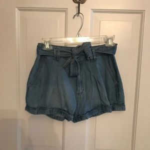 Abercrombie and Fitch Front Tie Shorts